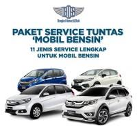 Paket Service Tuntas Mobil Bensin Jazz, Mobilio, BRV dan Freed