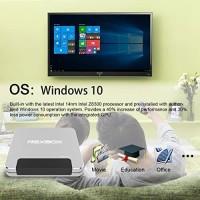 NEXBOX T9 Mini PC TV BOX 4GB/32GB Intel Cherry Atom Z8350 Windows 10