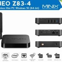 MINIX NEO Z83-4 Pro, Intel Cherry Trail Fanless Mini PC Windows 10 Pro