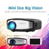Proyektor / Projector Cheerlux C6 WIFI + TV Tuner 1200 ANSI LUMENS