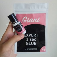 Giani Glue 1 sec for eyelash extension. SUPER STRONG - Made in USA