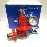 Regulator METER Tabung Gas 40-50 kg Tekanan Tinggi Catering/industri