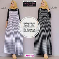 Linea Overall Spandex Salur/Overall Salur/Playsuit/Casual Dress Maxi
