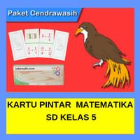 Kartu Pintar Matematika SD Kelas 5 Paket Keluarga Sidomath