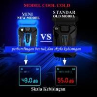 Kipas Laptop Cooling Fan Vacuum Cooler Cool Cold Magic Ice 3 Mini Ne
