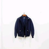 b8384ef7 Jaket Outerwear Zara Man Harrington Slim Fit Jacket Navy Original