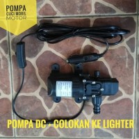 Paket B Pompa Air High Pressure Cuci Motor Mobil Socket Lighter