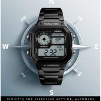 Harga jam tangan pria skmei 1382 pedometer kompas | Pembandingharga.com