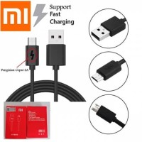 Kabel Data Xiaomi Mi9 2A 2 Ampere Micro Usb Android V8 Fast Charging