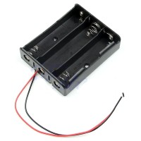 TERLARIS --- DIY 18650 CELL CHARGER WITHOUT LID 3 CELL - BC-003 - BLAC