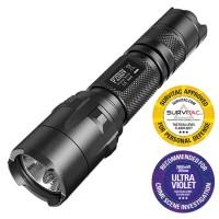 HOT PROMO --- NITECORE P20UV SENTER LED WITH UV LIGHT CREE XM-L2 T6 80
