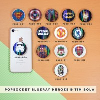 PopSocket Blueray/ Popsockets UV/ Phone Holder SUPER HEROES &TIM BOLA
