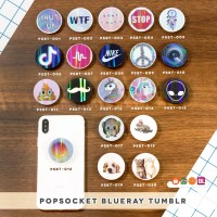 PopSocket Blueray/ Popsockets UV/ Phone Holder/ Stand HP - TUMBLR