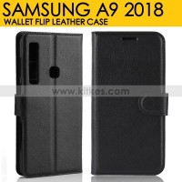 Wallet Flip Leather Case Samsung Galaxy A9 2018