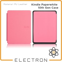 Kindle Paperwhite 10th Gen Case Pink PU Leather 10 Generation