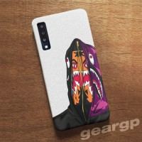 Harga casing hp bape mask shark samsung a9 2018 a7 note 9 s9 | Pembandingharga.com