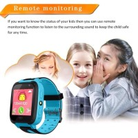 V6 Smart Watch Jam Tangan Pintar Anak Support Sim Card+GPS