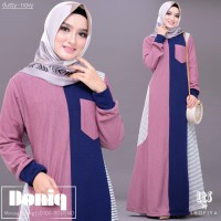 Gamis / Dress Mimosa Knitting Shofiya