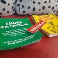 Stiker Sampah Infeksius / non Infeksius
