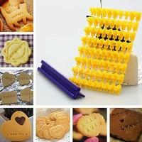 Cookies Cutter Set Huruf A - Z Angka 0 - 9