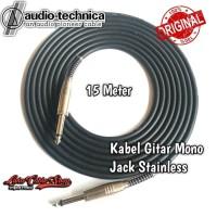 Kabel Gitar 15 Meter Akai Mono To Akai Mono Stainless