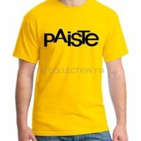 NEW tshirt paiste kuning baju distro terlaris kaos pria wanita