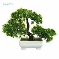 bonsai palsu kotak / tanaman artificial / bunga plastik / dekorasi