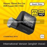 Xiaomi International 70 Mai Pro Dash Cam DVR Car 1944p