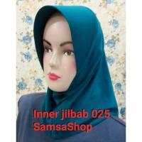 Inner Jilbab/Bergo Pendek/Jilbab Instan hijau tosca tua