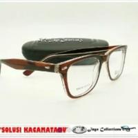Harga promo frame kacamata vintage way farer kacamata minus | Pembandingharga.com