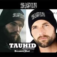 KUPLUK TAUHID / topi beanie Dakwah muslim