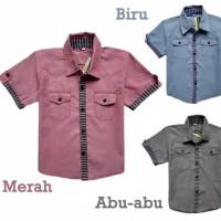 Baju Anak Laki/Atasan Kemeja Anak Laki
