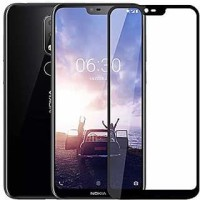 Tempered Glass Full Cover Nokia 6.1 Plus