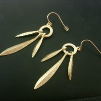 Anting / Anting Korea / Fashion Earrings / aksesories / Tassel LEAF