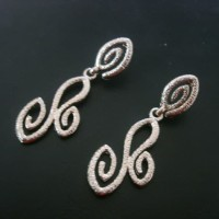 Anting / Anting Korea / Fashion Earrings / aksesories / UKIR