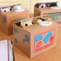 CELENGAN PIGGY BANK SAVING BOX LUCU KUCING PANDA