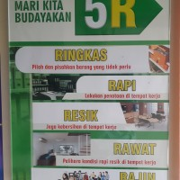 Poster Akrilik Budayakan 5R