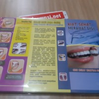 Leaflet / Brosur Kiat Sehat Merawat Gigi