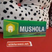 Papan Nama Ruang Musholla