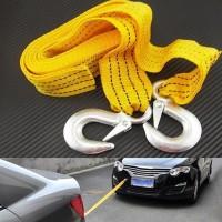 Tali Derek Car Emergency Tow Rope Penarik Penderek Mobil Mogok Darurat