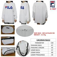 Harga baju kaus set tas merek fila harga 190rb seri 1607 kualitas | Pembandingharga.com