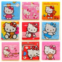 Stiker Saklar Hello Kitty / Sticker Tombol Lampu / Dekorasi - X420