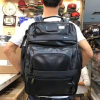 Tas Tumi Ransel Full kulit Pria backpack import.