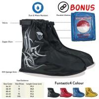 (Ready Gojek) Cover Sepatu, Jas Hujan Sepatu Anti Basah Funcover