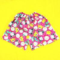 Celana pendek wanita celana pantai celana santai celana tidur kolor