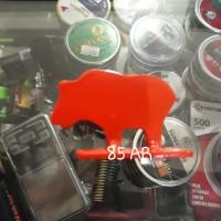 Metal Siluete Shilouete Target Babi Untuk Lomba Tripos