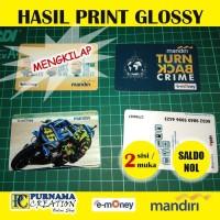 Jual Kartu Emoney / E-money Custom 2 sisi - Kota Depok ...