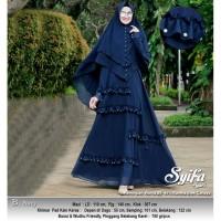 Baju Busana Muslim Wanita Gamis Syari Pesta Syifa Terbaru