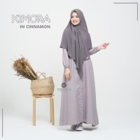 URFIMUTIYARO KIMORA DRESS CINNAMON GAMIS ONLY DAILY KATUN MEDINA ADEM