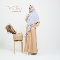 URFIMUTIYARO KIMORA DRESS GINGER GAMIS ONLY DAILY KATUN MEDINA ADEM